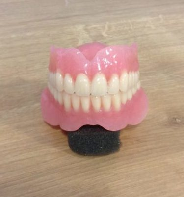 complete upper and lower denture